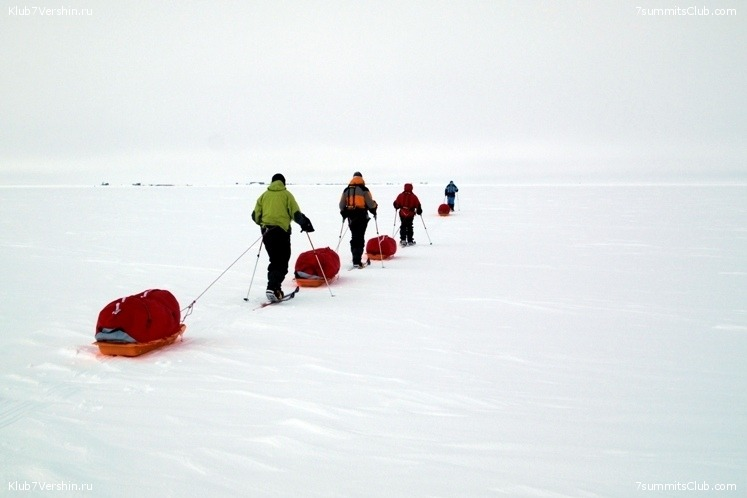 South Pole, Last Degree Skiing, photo 2
