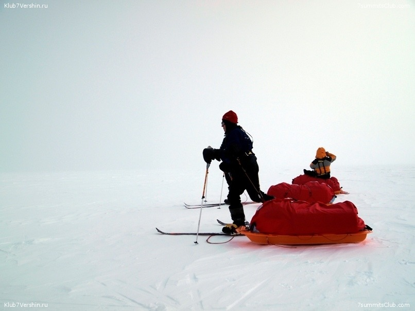 South Pole, Last Degree Skiing, photo 18