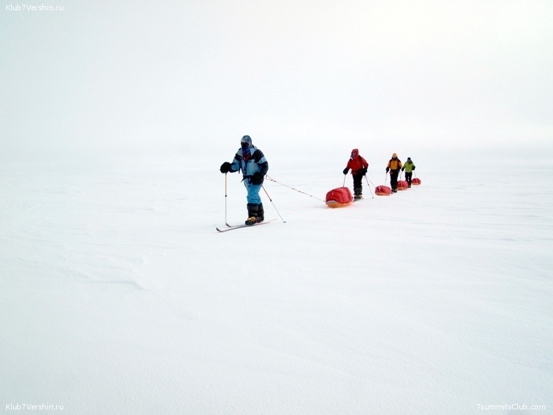South Pole, Last Degree Skiing, photo 20