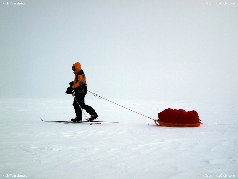 South Pole, Last Degree Skiing, photo 25