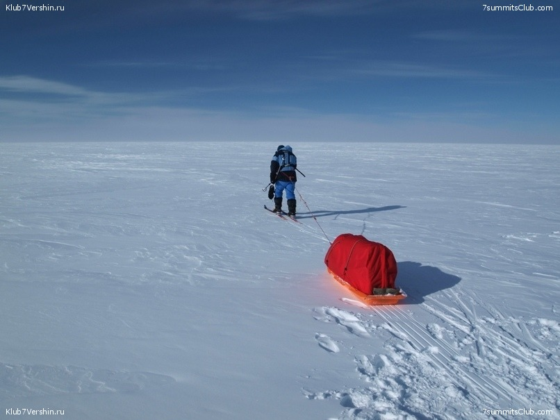 South Pole, Last Degree Skiing, photo 27