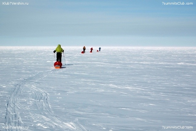 South Pole, Last Degree Skiing, photo 7