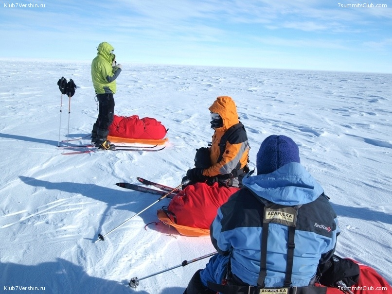 South Pole, Last Degree Skiing, photo 34
