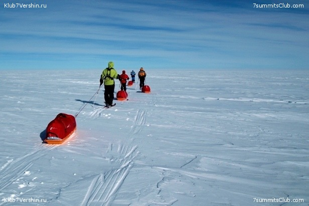 South Pole, Last Degree Skiing, photo 4