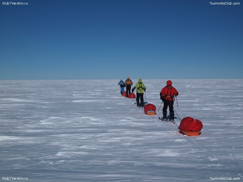 South Pole, Last Degree Skiing, photo 45