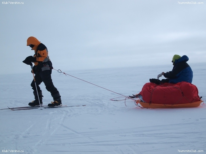 South Pole, Last Degree Skiing, photo 50