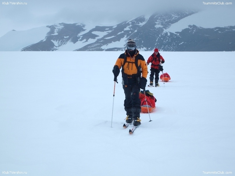 South Pole, Last Degree Skiing, photo 54