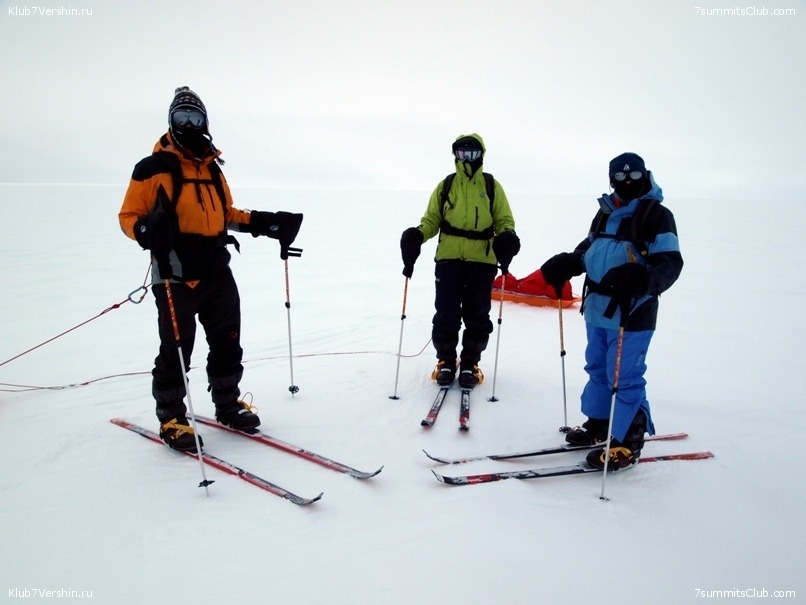 South Pole, Last Degree Skiing, photo 57
