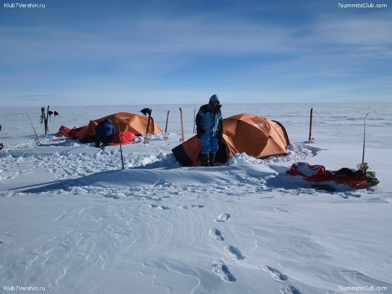 South Pole, Last Degree Skiing, photo 67