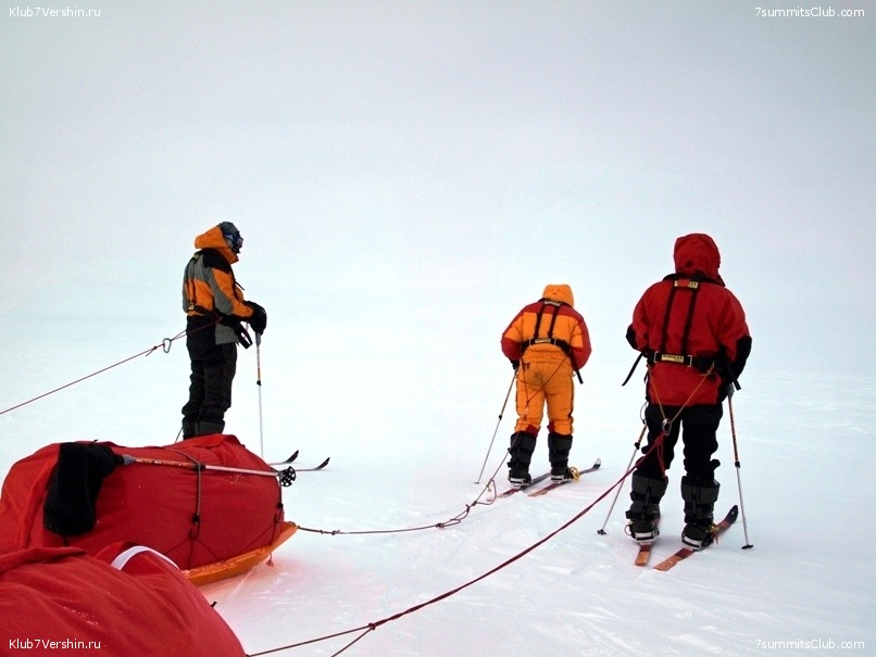 South Pole, Last Degree Skiing, photo 68