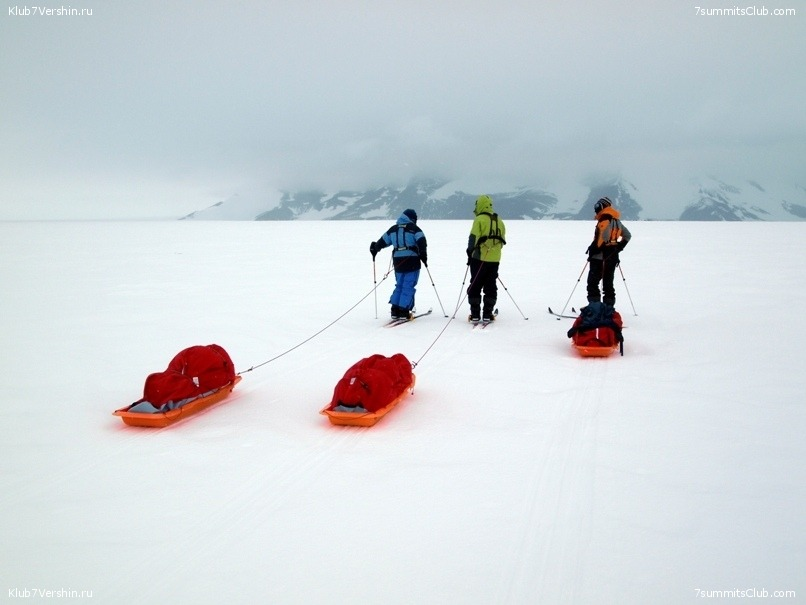 South Pole, Last Degree Skiing, photo 75
