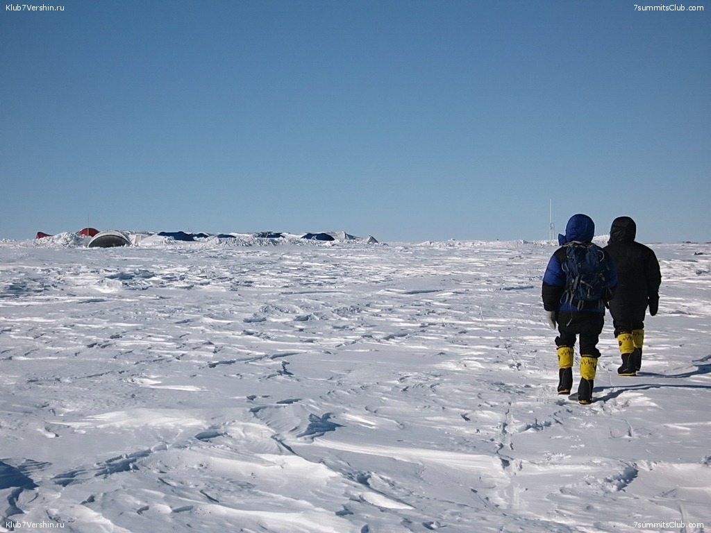 Flight to the South Pole, photo 7