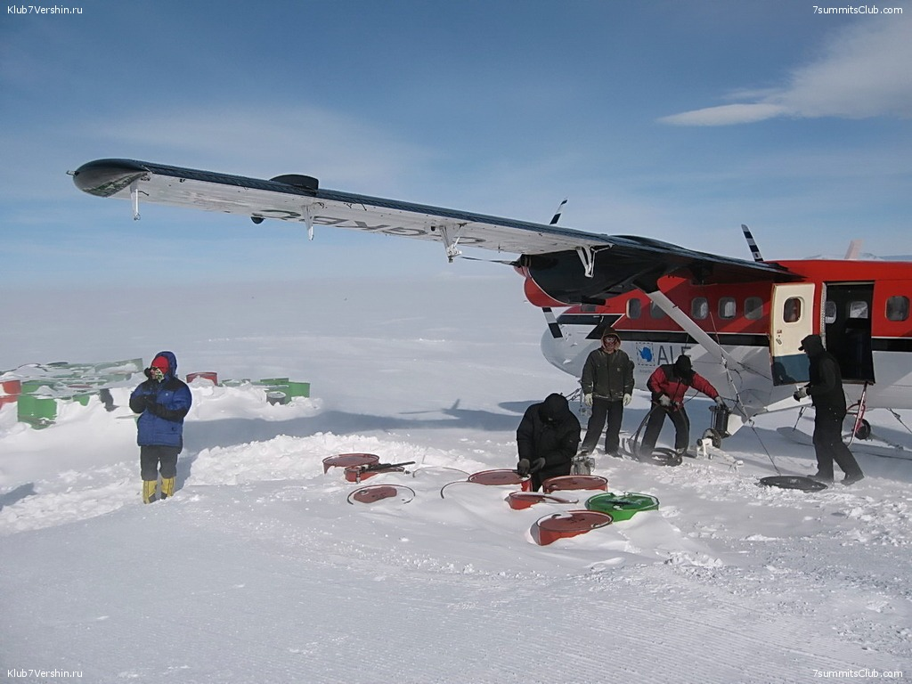 Flight to the South Pole, photo 11