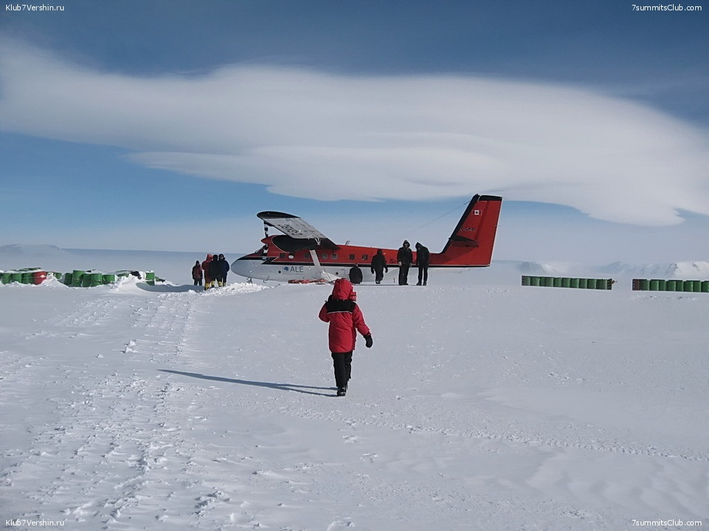 Flight to the South Pole, photo 12