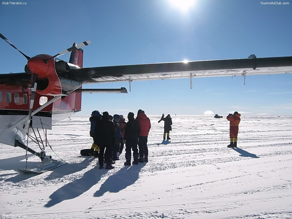 Flight to the South Pole, photo 13