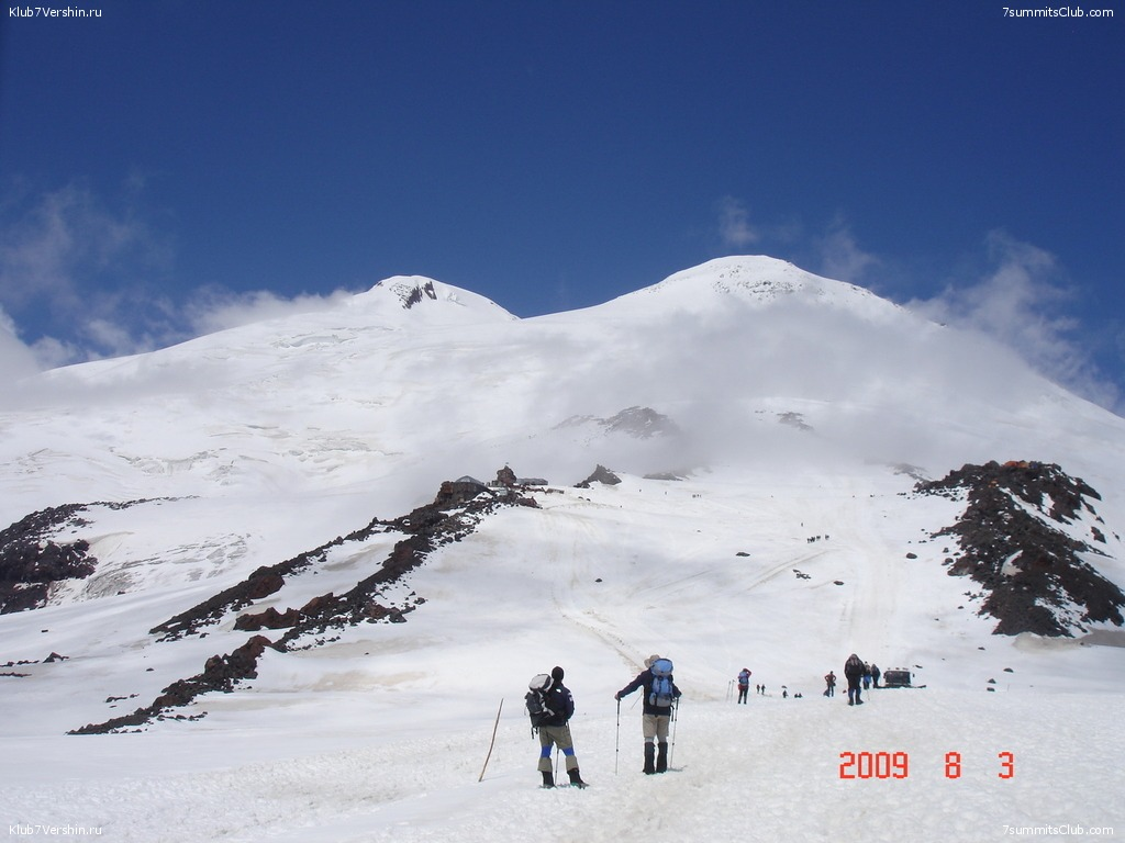 Elbrus Classic. Summer 2009, photo 16