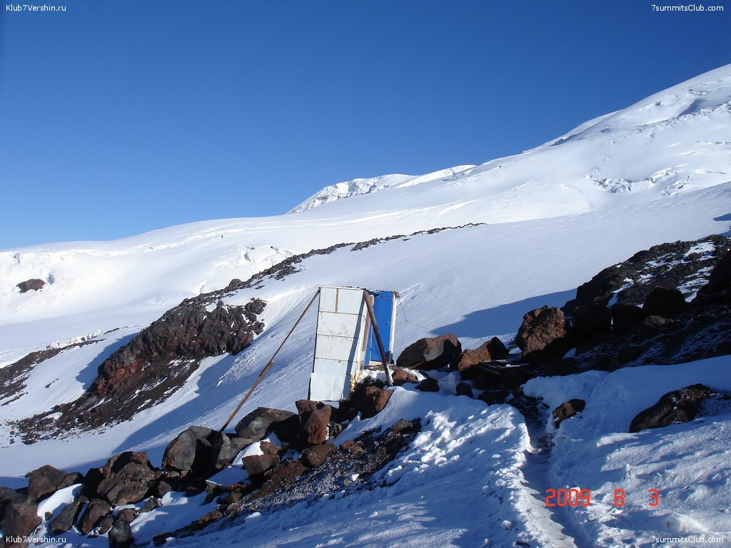 Elbrus Classic. Summer 2009, photo 19