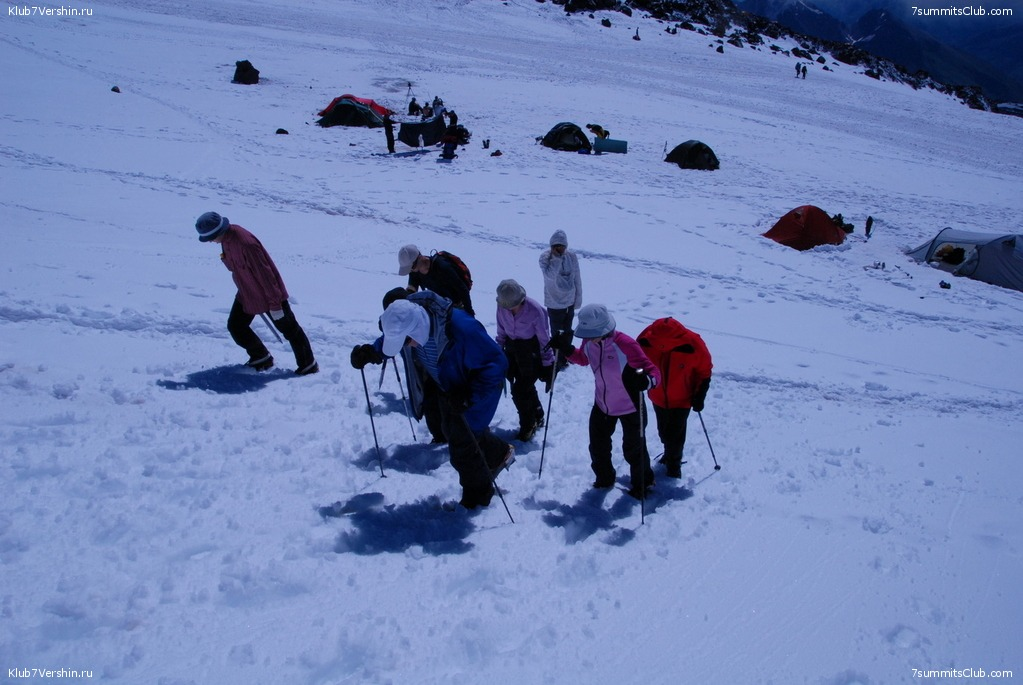 Elbrus Classic. Summer 2009, photo 3