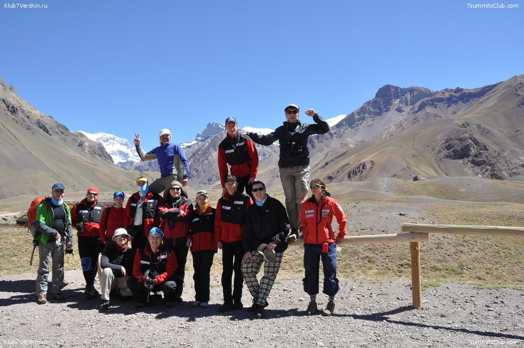 Aconcagua. 2011 January, photo 9