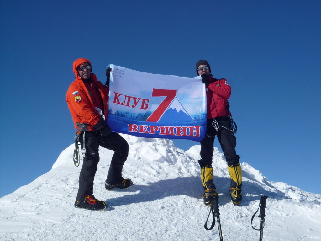 Mount Vinson 2011. Dima Ermakov, photo 15