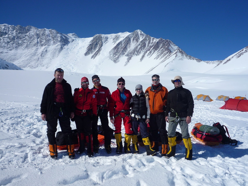 Mount Vinson 2011. Dima Ermakov, photo 20