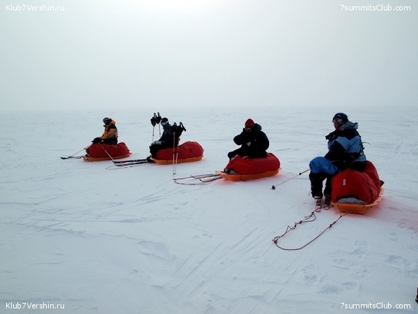 South Pole, Last Degree Skiing, photo 26