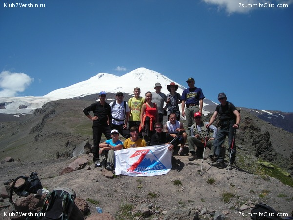 Elbrus 2010 with Alex Abramov, photo 24